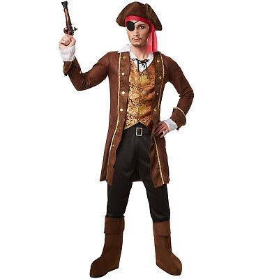 Piratenkostüm Piraten Fasching Herren Kostüm Seeräuber Freibeuter Verkleidung - Kostüm Pirat Herren