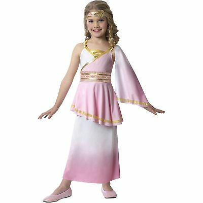 NEW Girls Venus Goddess Fancy Costume Dress Up Queen Childs Roman Greek Princess