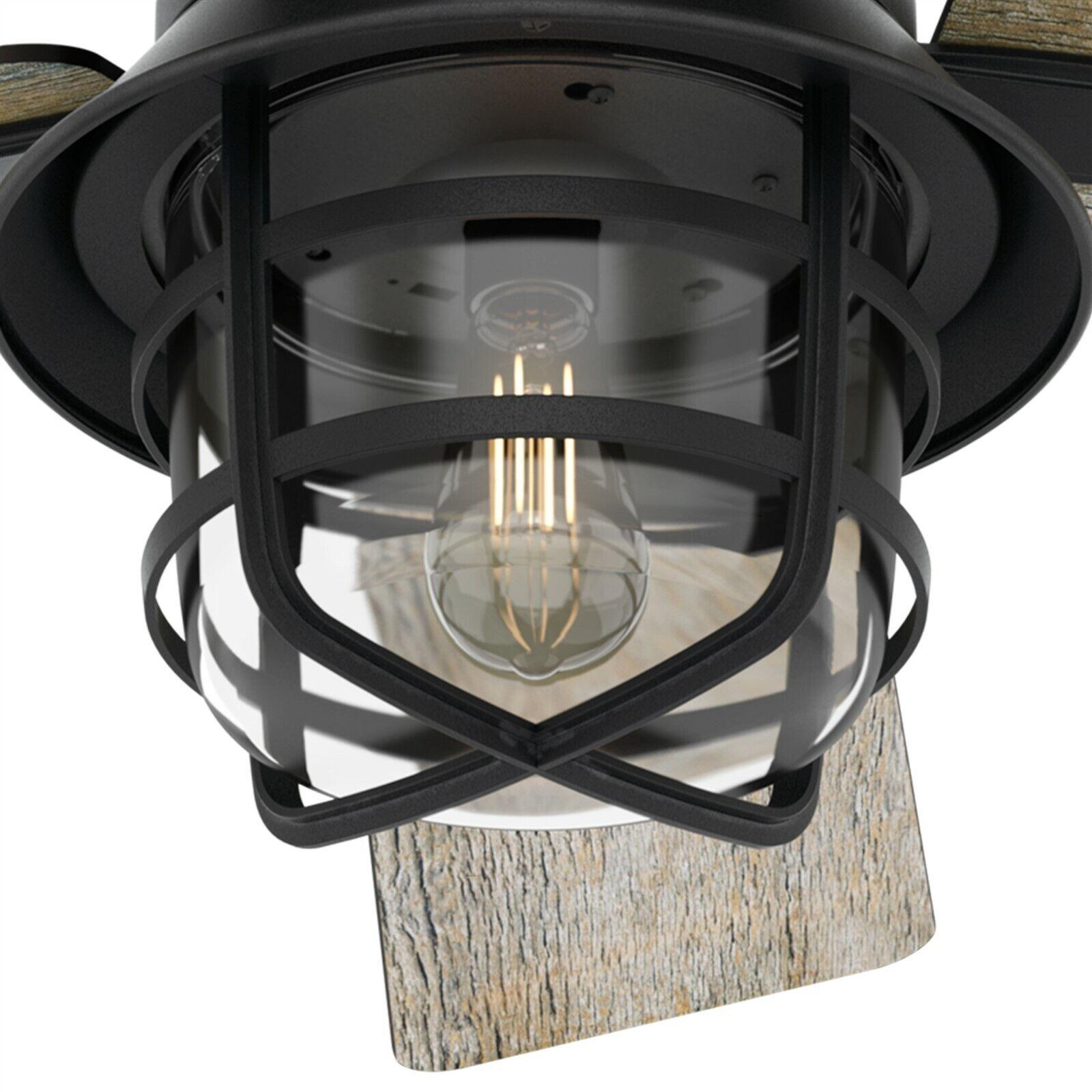 Hunter Fan 54 Quot Casual Weathered Zinc Ceiling Fan With