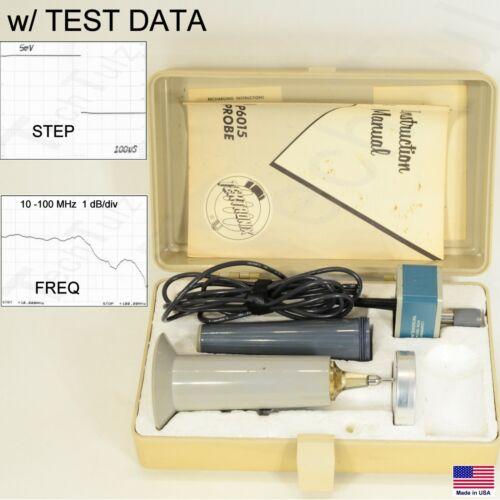 Tektronix P6015 DC-75MHz 13kV / 20kV High Voltage Oscilloscope Probe + Test Data