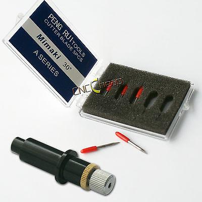 1pc Blade Holder 5pcs 30 Blades Fit For Mimaki Vinyl Cutter Cutting Plotter