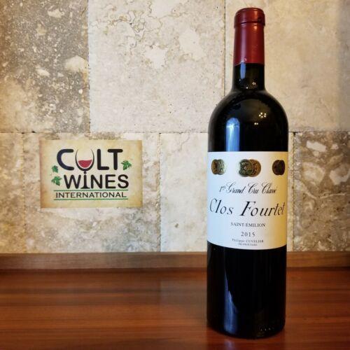 JD 98 pts! 2015 Clos Fourtet Bordeaux wine, St. Emilion