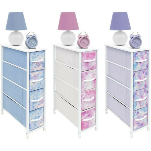 Sorbus Narrow Dresser Tower W/ 4 Drawers- Vertical Storage For Toys Kids Bedroom