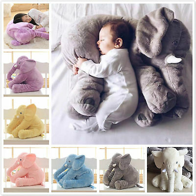 Long Nose Elephant Doll Soft Plush Toy For Baby Kids Stuff Toys Lumbar