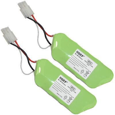 2-Pack HQRP Battery for Shark SV1106N Freestyle Navigator Co