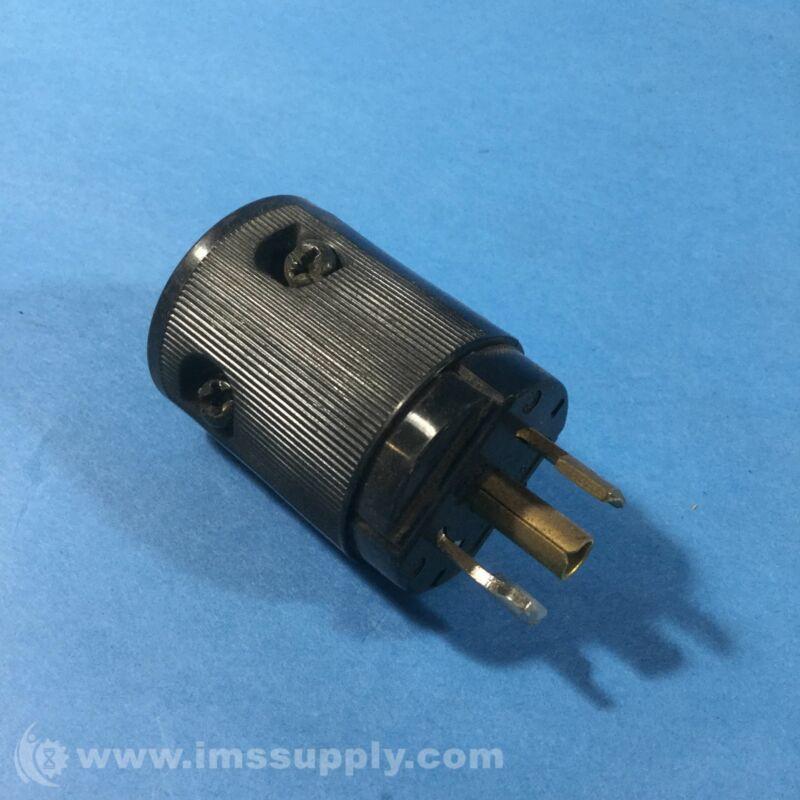 Hubbell HBL7594V Plug Connector, 15 Amp, 125 VAC USIP
