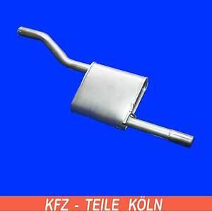 FORD-FOCUS-1-6i-16v-Familiar-Escape-Silenciador-silenciador-silenciador