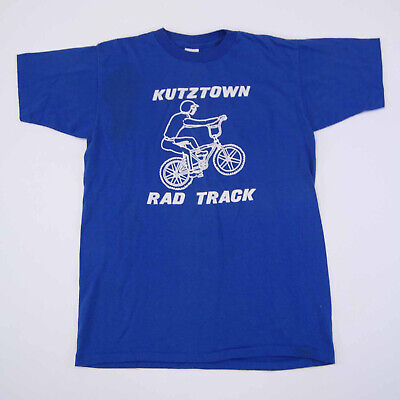 80s Tops, Shirts, T-shirts, Blouse   90s T-shirts Vintage 1980's Kutztown BMX T Shirt 50/50 Single Stitch Made in USA Size S $20.00 AT vintagedancer.com
