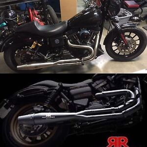 New red thunder exhaust pipes for Harley