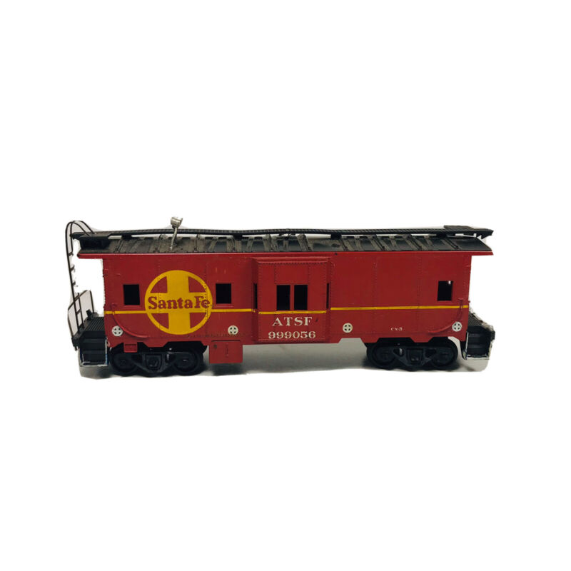HO Athearn Santa Fe Bay Window Caboose ATSF # 999056 Freight Train Rail Car