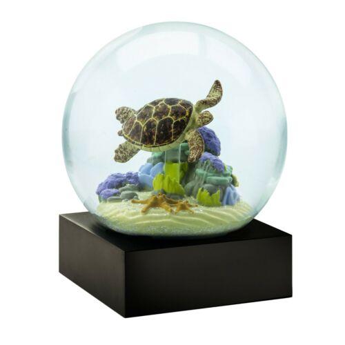 Sea Turtle Snow Globe by CoolSnowGlobes - Marine Life Ocean Habitat Beach Gift