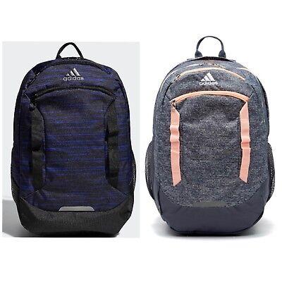 "adidas Excel Iv Backpack holds 15.4"" Laptop with Media Pocket and Bottle Pockets"