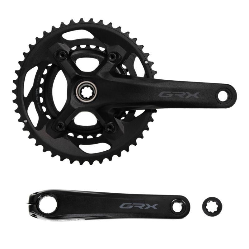 Shimano GRX FC-RX600 Crankset 2 x11-speed - 46/30 Teeth Fit Gravel Cyclocross