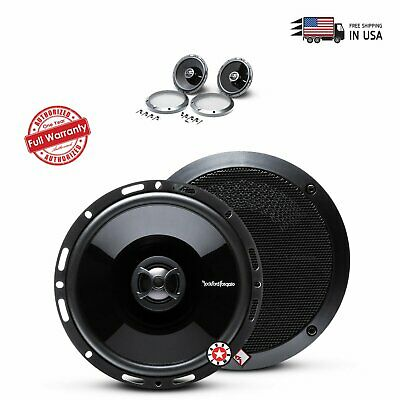 "2) Rockford Fosgate P1650 6.5"" 2-Way Full Range Car Audio Co"