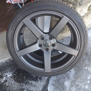 Ruffino mags 18 inch with Kuhmo Ecsta PS 31 tires Volvo or Ford