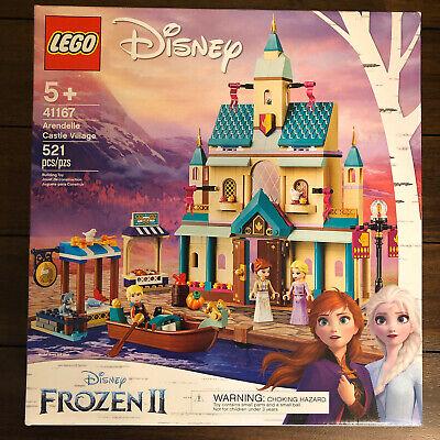 Lego Disney Frozen II Arendelle Castle Village Building Toy Set 521pcs 41167