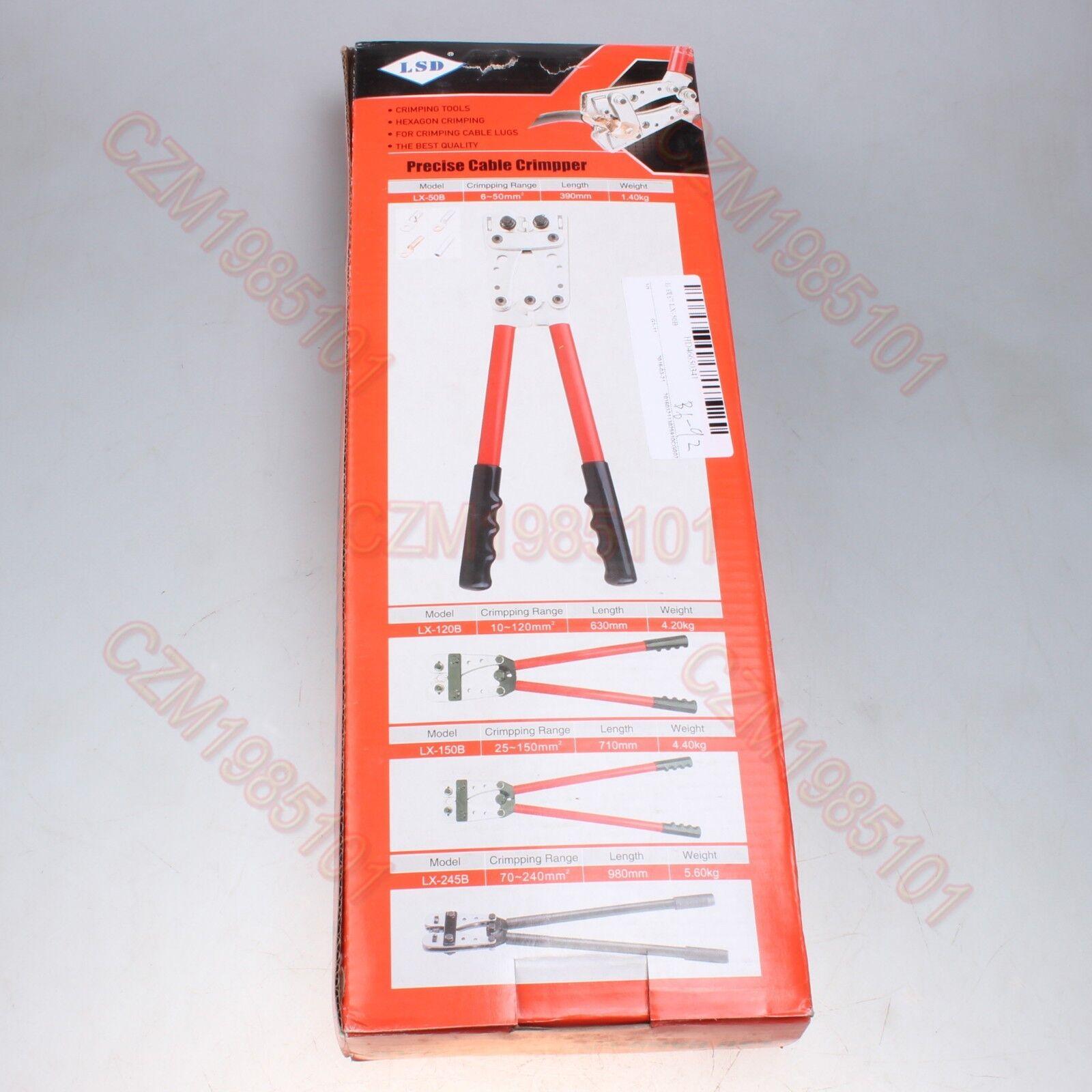 heavy duty hex crimping tool lx 50b cable lug connectors crimper range 6 50mm cad. Black Bedroom Furniture Sets. Home Design Ideas