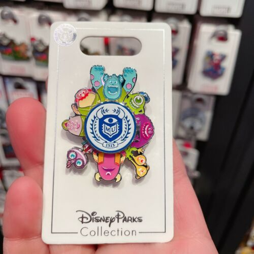 SHDR Disney Pin Pixar Monsters sulley mike spinner Shanghai Disneyland