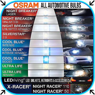OSRAM AUTOMOTIVE BULB CATALOGUE ALL BULB TYPES PERFORMANCE STYLING LONG LIFE LED