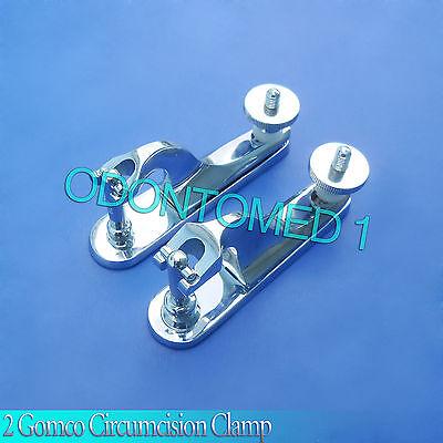 2 Pcs Gomco Circumcision Clamp 1.1cm 1.3cm Surgical Instruments