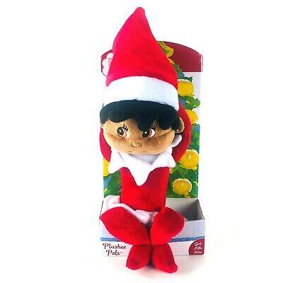 The Elf On The Shelf Plushee Female African American Doll 2005