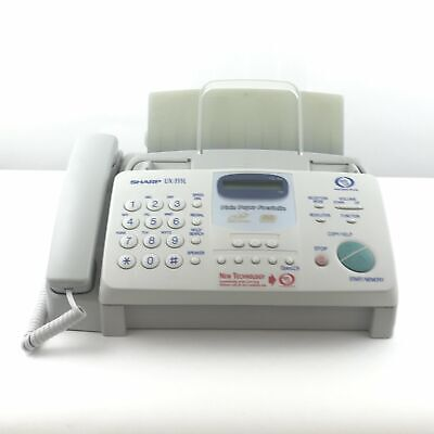 Sharp Ux-355l Plane Paper Facsimile - Heavy Duty Fax Machine
