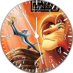 Lion King wall Clock 10 will be nice Gift and Room wall Decor W331