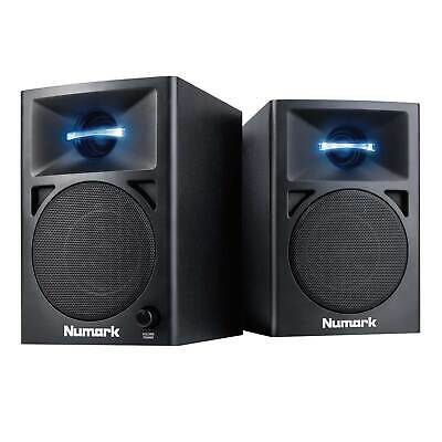 Numark N-Wave 360 60W Active/Powered Studio Desktop Monitor DJ Speaker Pair