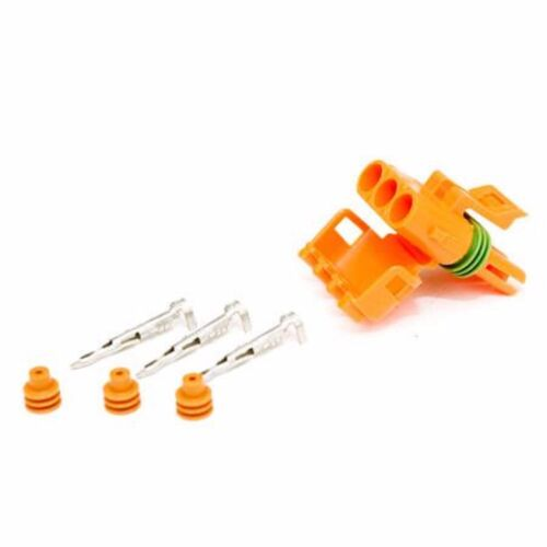 Electrical Connector Plug For Gm 3 Bar Map Sensor W/ Plugs + Pins Includes