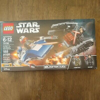 Lego Star Wars A-Wing vs Tie Silencer Microfighters Disney 75196 New