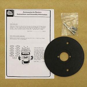 Elu dewalt e44186 circular base plate for use with for Motor base plate design