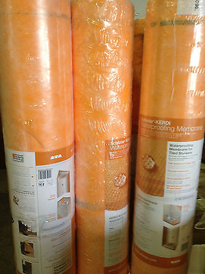 Kerdi Waterproofing Membrane Schluter*THESE ARE FULL 323SF ROLLS* FREE SHIPPING!