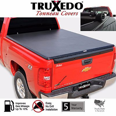 TruXedo TruXport Tonneau Cover Roll Up 15-18 Chevy GMC Silverado Sierra 8FT Bed  ()