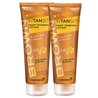 "2x Tannymaxx Brown ""Exotic Intansity"" je 125 ml Solarium Kosmetik"