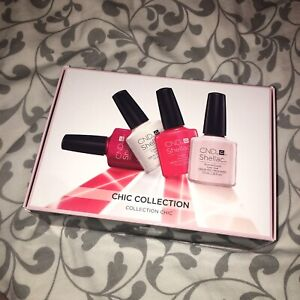 Shellac vernis à ongles gel collection Kit chic.