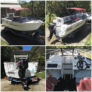Ally Craft 5.1 Boat & Trailer Coolum Beach Noosa Area Preview