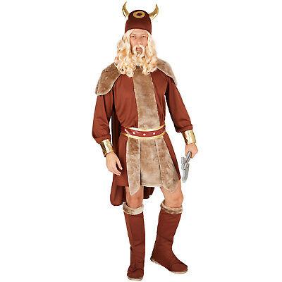 Herrenkostüm Winkinger Häuptling Nordmann Barbar Mittelalter Fasching Karneval (Herr Mann Kostüm)