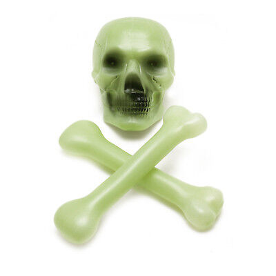Halloween Glow in the Dark Skull and Bones Haunted House Party Decorations