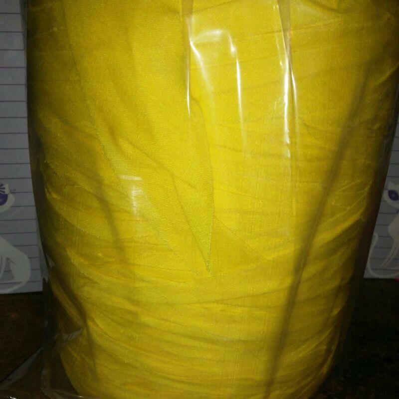 Rag Yarn Precut Fabric Strips Yellow 31oz