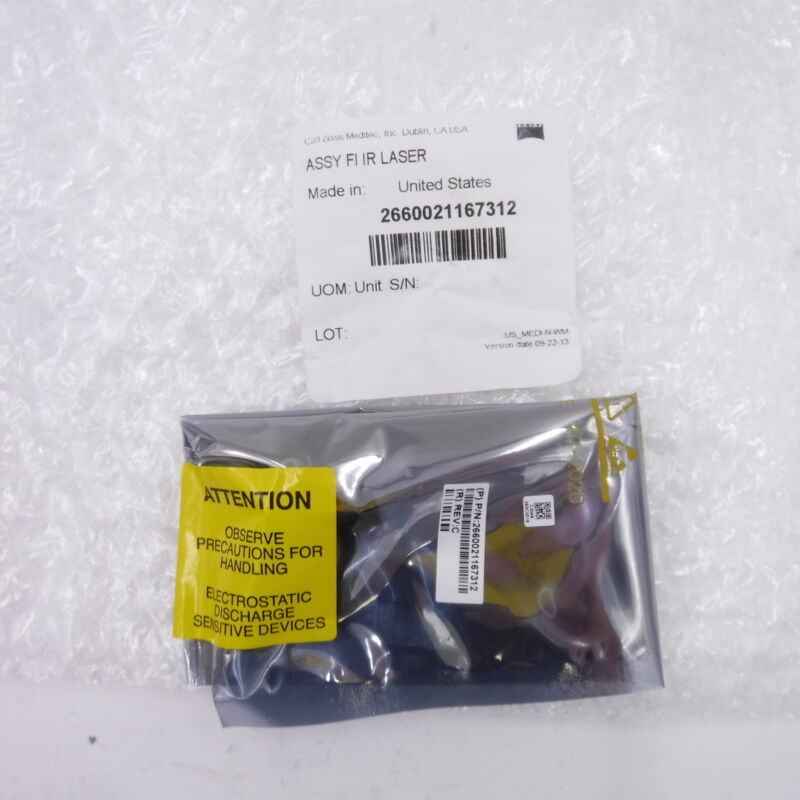 FI IR Laser Assembly For Zeiss Cirrus 500 HD-OCT 2660021167312 Sealed