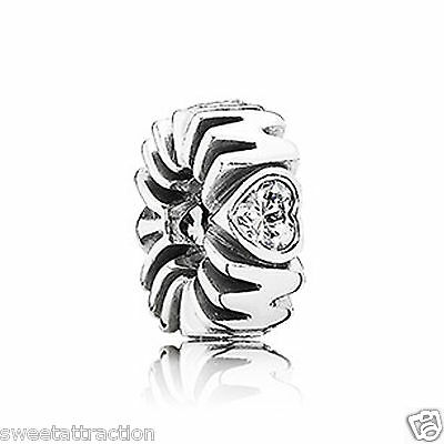 New Authentic Pandora Charm 791520CZ Mother's Pride Spacer Box Included
