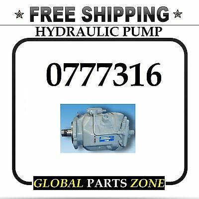 New Hydraulic Pump For Caterpillar Cp553 Cs551 0777316 077-7316 Free Delivery