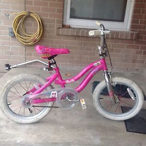 Barbie kids bike