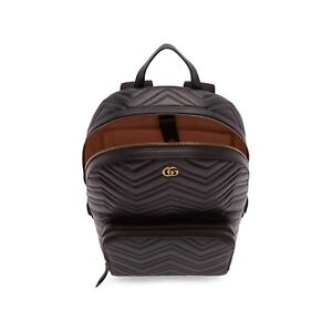 Gucci Men's Marmont Matelasse Backpack - Authentic & Like New
