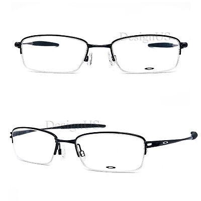 Oakley VALVE OX3093-0153 Polished Black 53/18/135 Eyeglasses - New