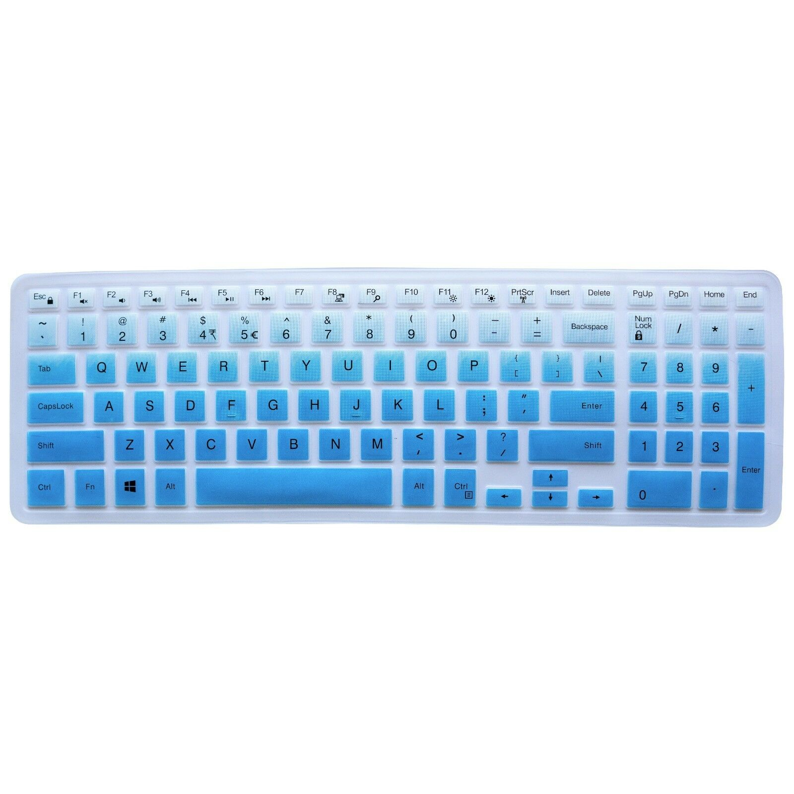"""Keyboard Protector Skin Cover Dell Inspiron 15"""" 3000 5000 70"""