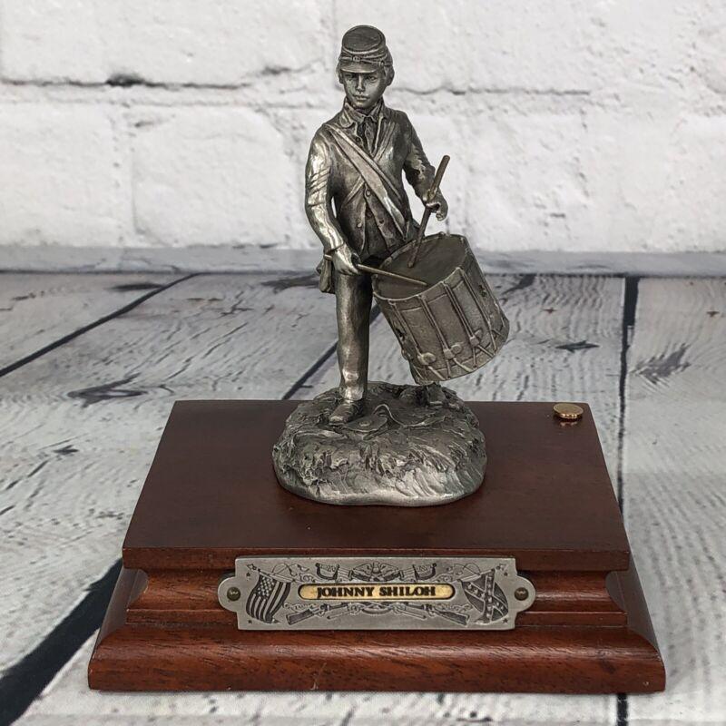 CHILMARK FJ Barnum Fine Pewter Johnny Shiloh 1564/2500 Civil War Rare 1987