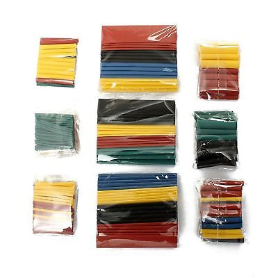 328pcs 8 Size 2 1 Polyolefin Heat Shrink Tubing Tube Sleeve Wrap Wire Assortment