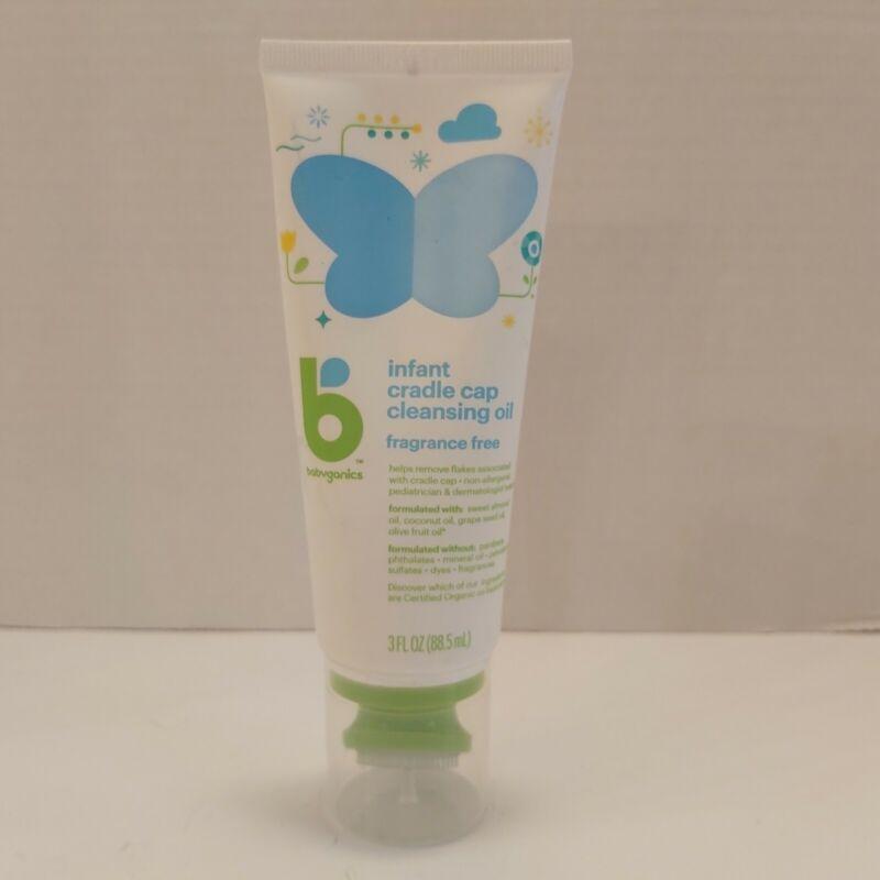 Brand New Babyganics Infant Cradle Cap Cleansing Oil 3 FL Oz