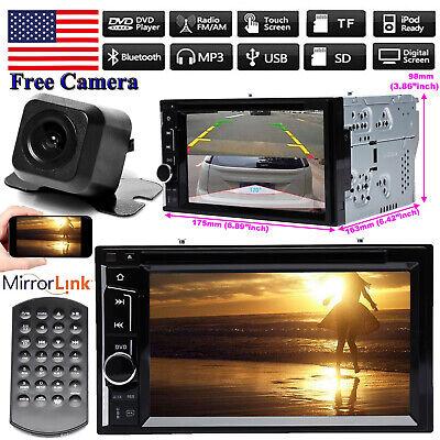 For Hyundai Santa Fe 2006-2012 2Din Car Stereo Radio Headunit Player&View Camera (Hyundai Santa Fe Radio)